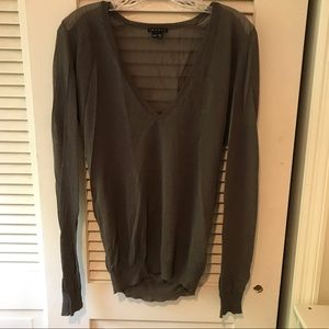 THEORY Sheer Pullover